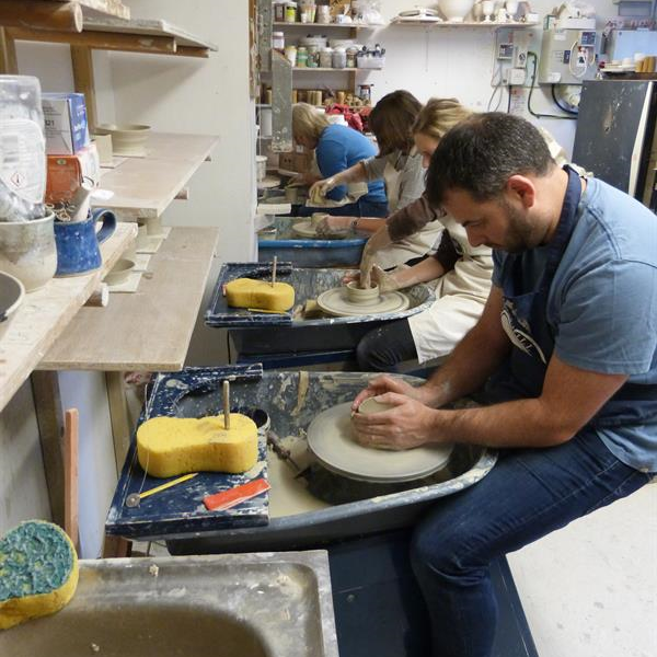 Hampshire pottery workshops