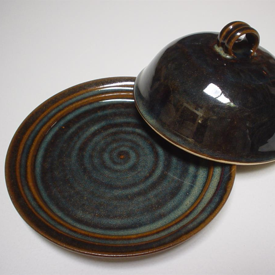 Butter Dish - Brown