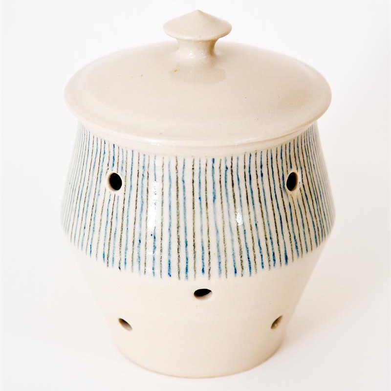 Garlic Pot - Stripe