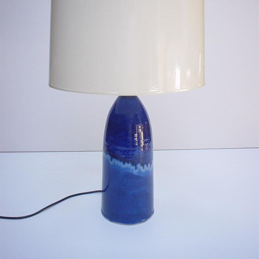 Lamp base - Blue