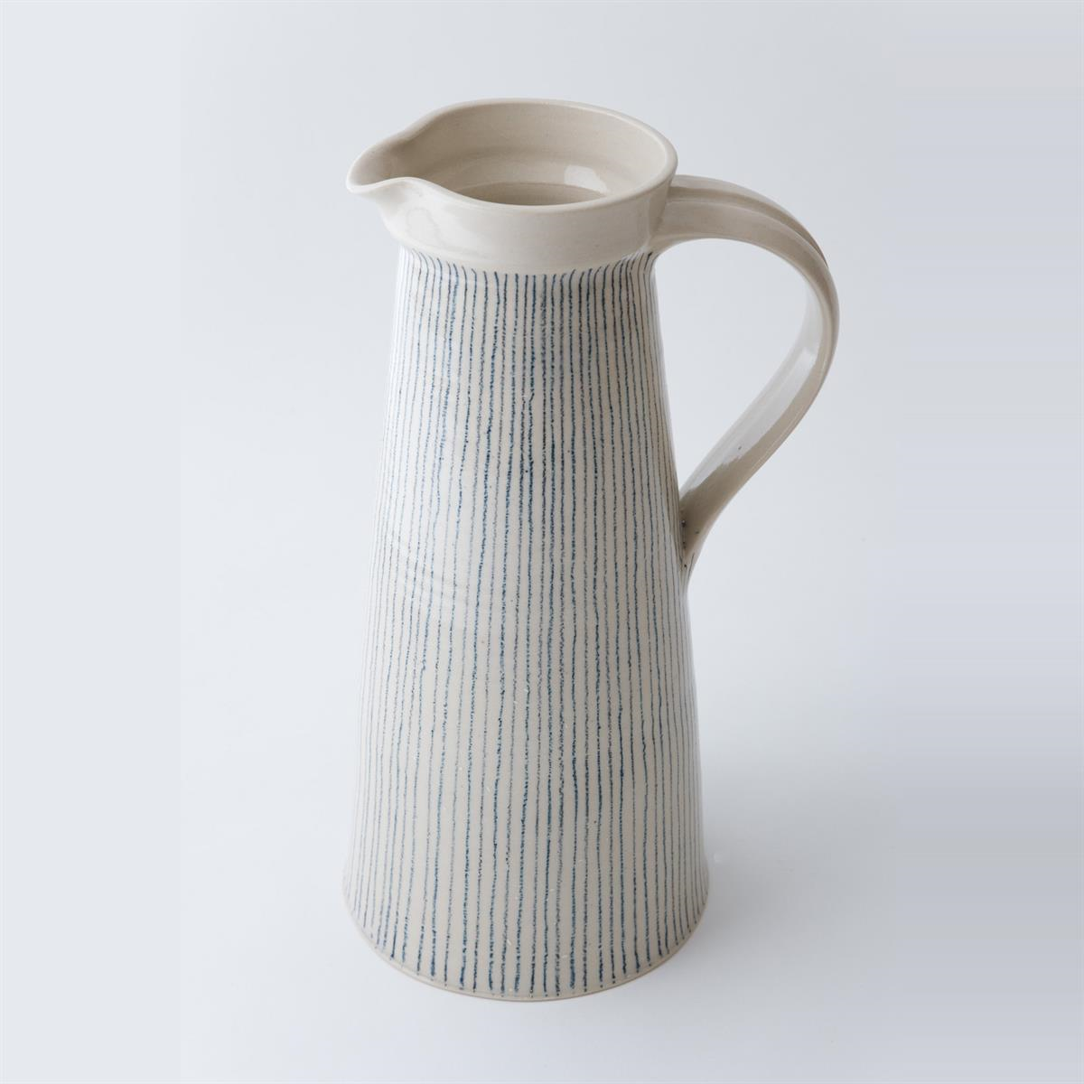 Large jug - Stripe