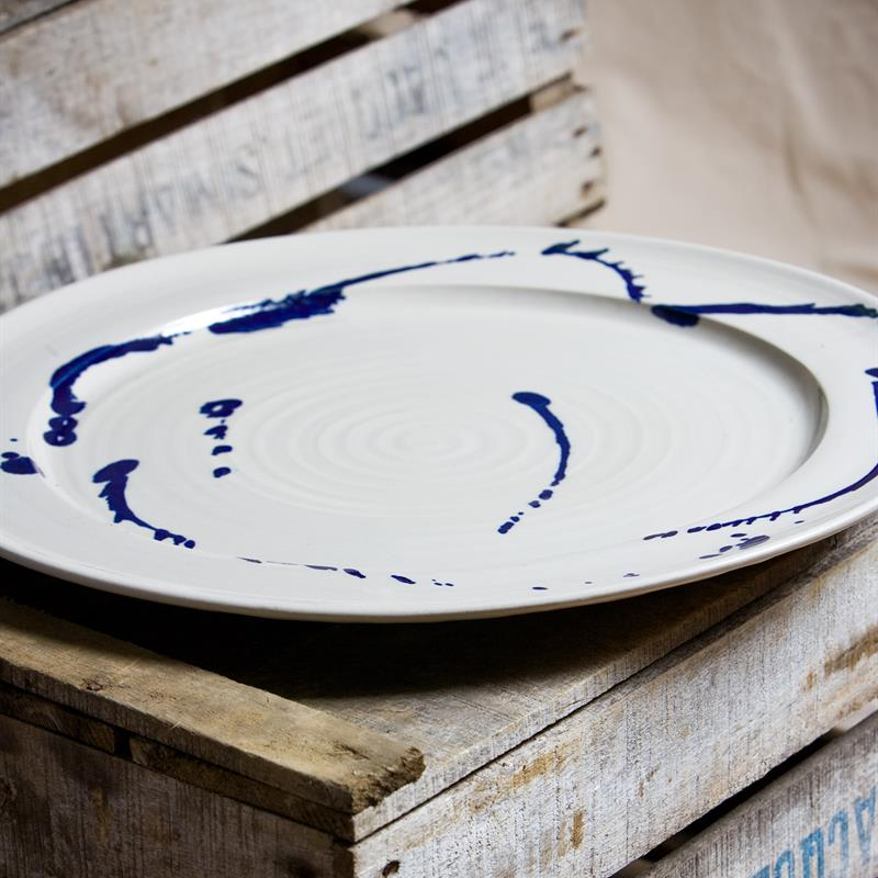 Large platter - splatter