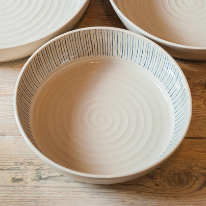 Small fruit bowl - Stripe