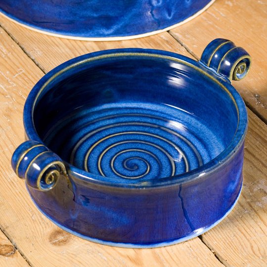 Small serving dish - Blue
