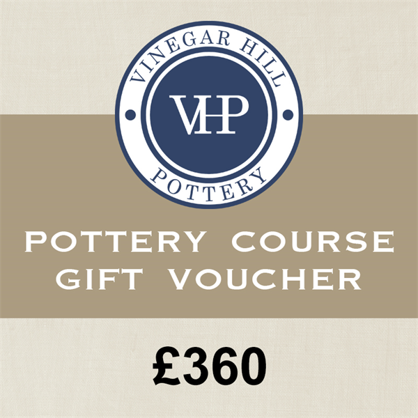 Three Day Pottery Course Gift Card